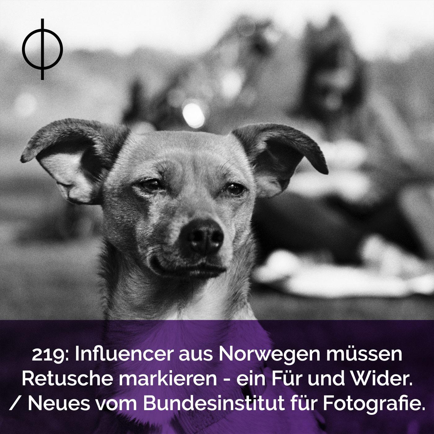 219: Influencer aus Norwegen müssen Retusche markieren – ein Für und Wider. Neues vom Bundesinstitut für Fotografie